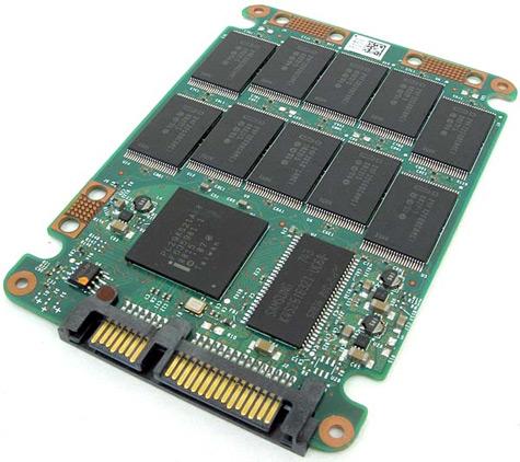 Intel X25-M ssd (naakt)