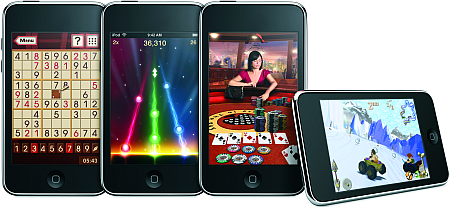 iPod Touch met games