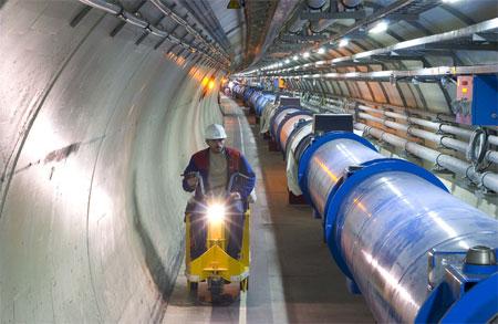 LHC - tunnel