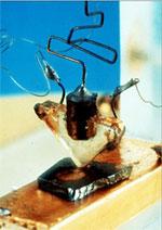 Eerste transistor