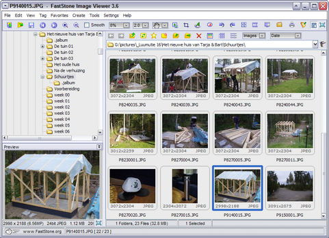 FastStone Image Viewer 3.6 screenshot (481 pix)