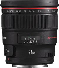 Canon 24mm f/1,4 L II USM