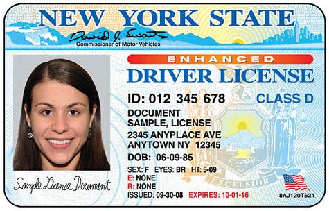Enhanced driver license met rfid-chip