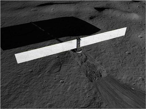 Nasa-kernreactor op maan - concept