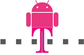 T-Mobile met Android logo