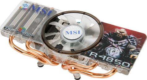MSI Radeon HD R4850-T2D512