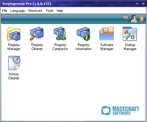 RegSupreme Pro 1.8.0.472 screenshot (481 pix)