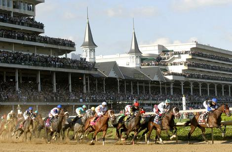 Paardenraces in Kentucky