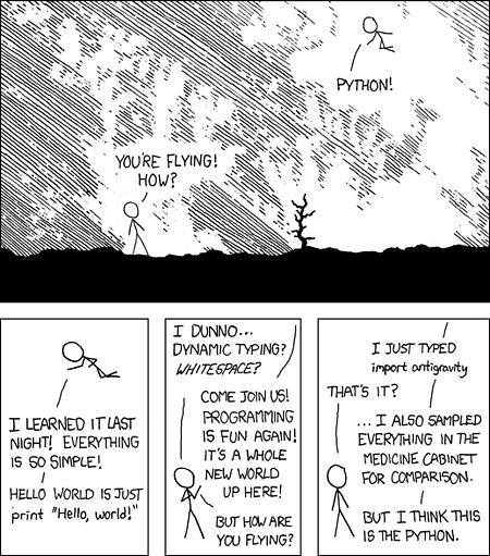XKCD - Python