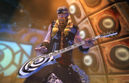 Zakk Wylde in Guitar Hero World Tour