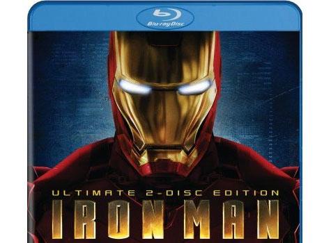 Iron Man blu-ray