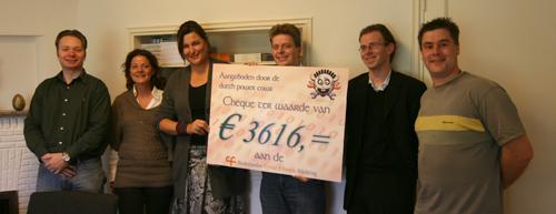 DPC Sponsoractie 2008: de aanwezigen