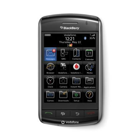 Vodafone branded Blackberry Storm