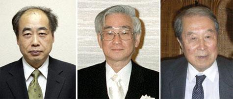 Nobelprijswinnaars natuurkunde 2008