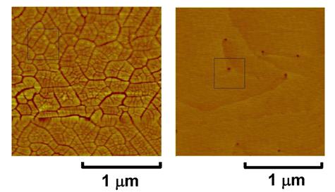 Fujitsu GaN-transistoroppervlak
