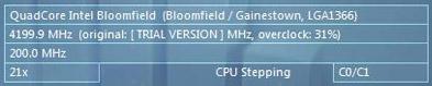 Core i7 965 overgeklokt naar 4,2GHz