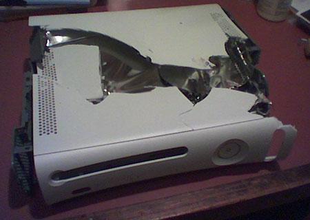 Beschadigde Xbox 360