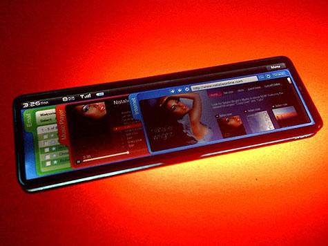 Prototype van Mobile Internet Device gebaseerd op Intels Moorestown-platform