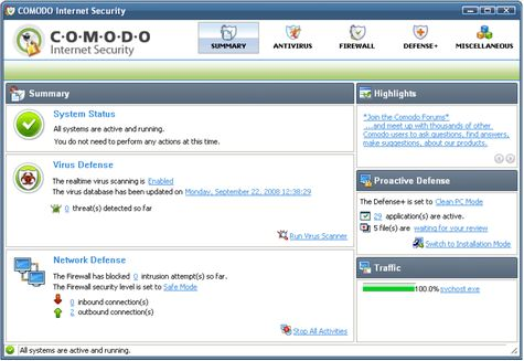 Comodo Internet Security 3.5