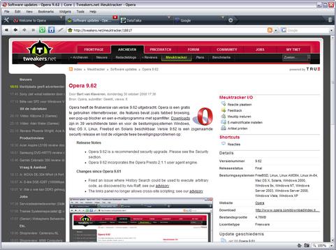 Opera 9.62 screenshot (481 pix)