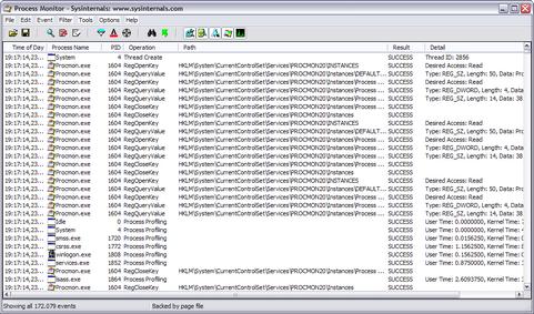 Process Monitor 2.02 screenshot (481 pix)