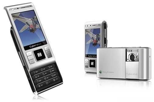 Sony Ericsson Cybershot C905 Goud, Zilver, Zwart
