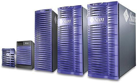 Servers van Sun Microsystems