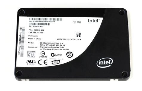 Intel X25 ssd
