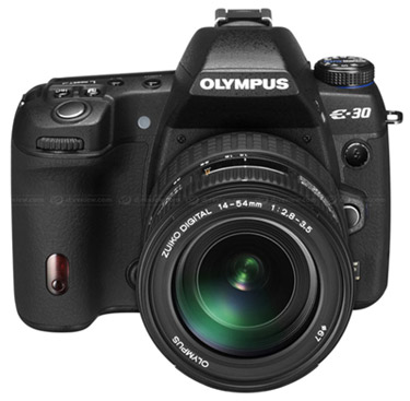 Olympus E-30 midden