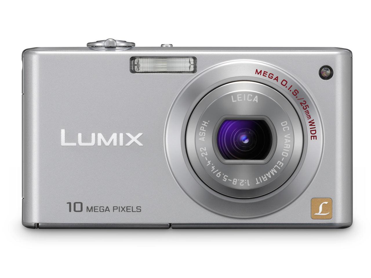 Panasonic Lumix DMC-FX37 Zilver - Prijzen - Tweakers