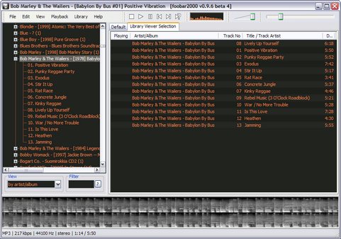 foobar2000 0.9.6 beta 4 screenshot (481 pix)