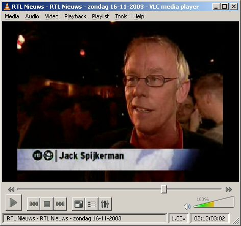 VLC Media Player 0.9.6