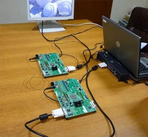 Sharp prototype optische interconnect