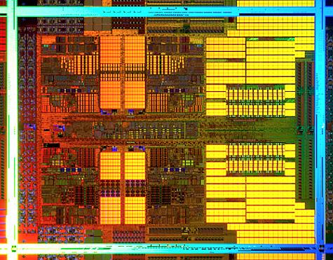 AMD Shanghai dieshot
