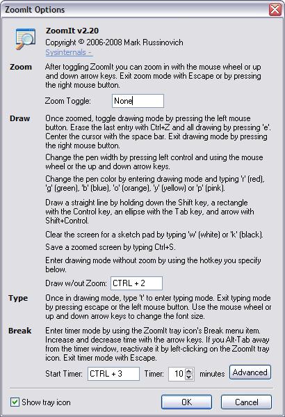 ZoomIt 2.2 screenshot