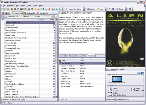 DVD Profiler screenshot (481 pix)