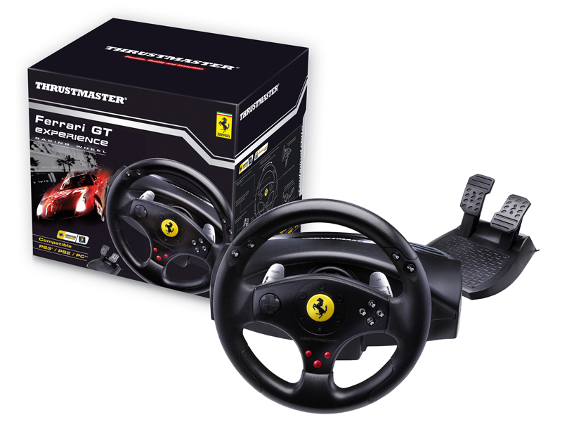 Thrustmaster Ferrari GT Experience 3 in 1 Rumble Force Racing Wheel