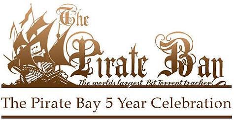 The Pirate Bay 5 jaar