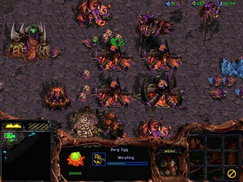 StarCraft - Zerg colony (481 pix)