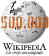 Wikipedia: 500.000 artikelen