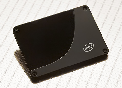 Intel X25-M behuizing