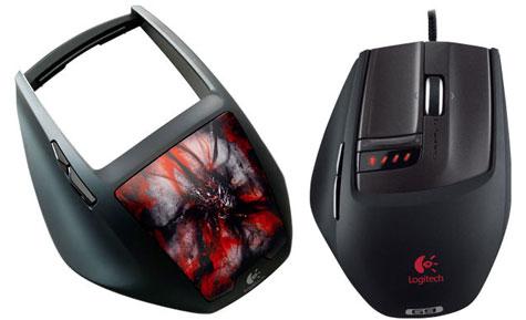 Logitech persoonlijke G9-muis