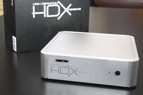 HDX 1000 - apparaat met doos