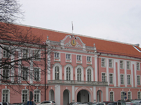 Toompea Castle - Ests parlementsgebouw