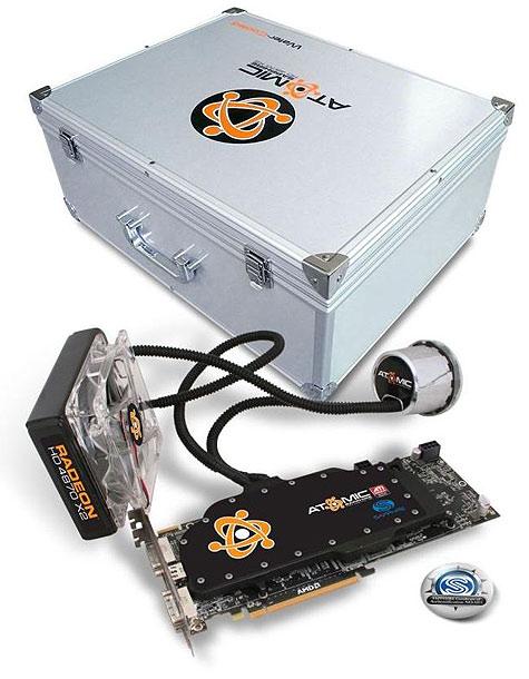 Sapphire Atomic Radeon HD 4870 X2