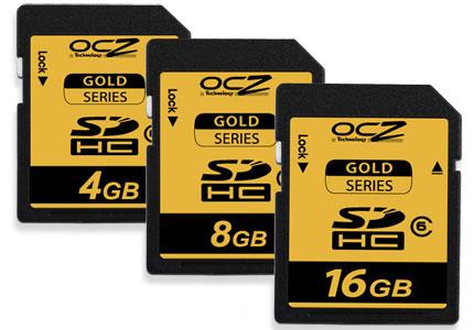 OCZ Gold-serie sdhc-kaarten