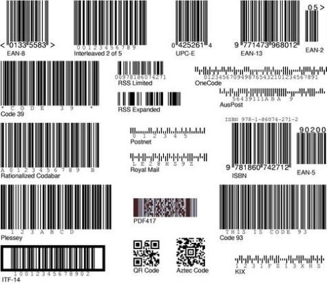 Barcode Writer in Pure Postscript
