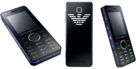 Samsung Armani M7500 Night Effect