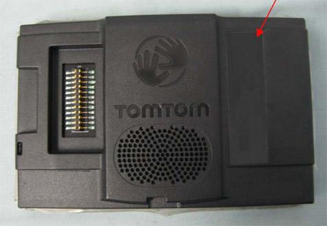 Tomtom Dub1-inbouwnavigatiesysteem