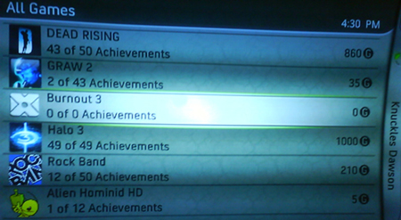 Achievements in oude Xbox-games